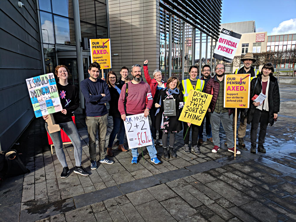 Picket - Hadyn Ellis - 16th March
